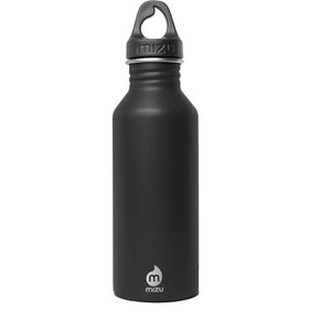 MIZU M5 Drikkeflaske with Black Loop Cap 500ml, enduro black